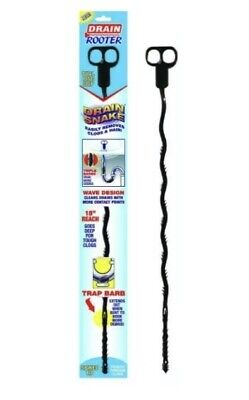 Drain Rooter Plastic Drain Snakes help snag hair and clogs snags dirt declogger