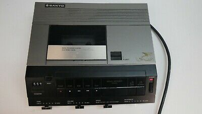 Sanyo TRC9010 Dictation Memo-Scriber Audio Cassette Transcribing