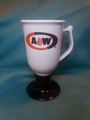 A&W Plastic Coffee Cup On A Stem, Plastic, 1