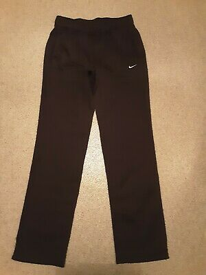 Womens Nike Tracksuit Bottoms Size XS Dri Fit.  Black worn once