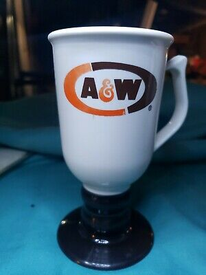 A&W Plastic Coffee Cup On A Stem, Plastic, 3