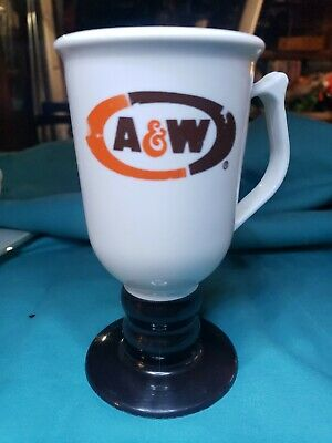 A&W Plastic Coffee Cup On A Stem, Plastic, 4