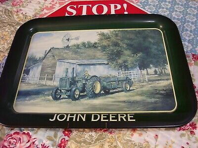 Collectibles John Deere Tin 2000, 12 1/2 Inches By 17 1/2 Inches With Wall Mount