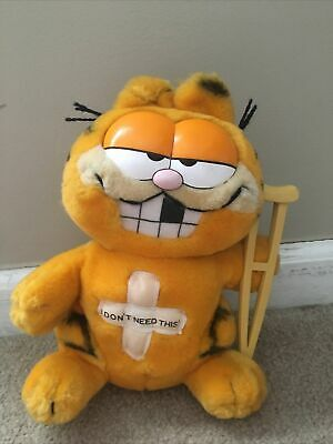"Vintage Garfield ""I Don't Need This"" Plush"