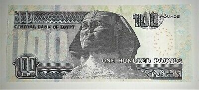 Egypt One 100 Pounds UNC Note 2019 (ONLY ONE NOTE FROM THE LISTING)