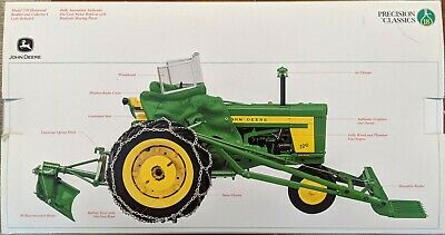 Precision Classics The Model 720 Tractor with 80 Blade and 45 Loader John Deere