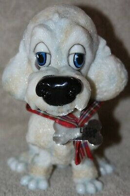 Little Paws by Arora Design Lady Blue Eyes White Poodle 2010 with Tag