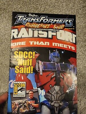 Transformers Collectors Club TFCC rare Issue #46 Official Magazine Aug Sep 12