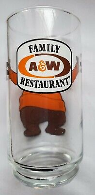 Vintage A & W Root Beer Glass Collectible!