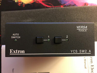 Extron Electronics 60-874-01 YCS SW2 A Two Input Switcher with Audio
