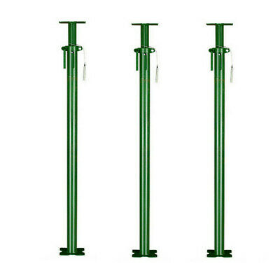 3x Size 1 Acrow Heavy Duty Prop 1750mm-3100mm Building Brick Wall Acro Support