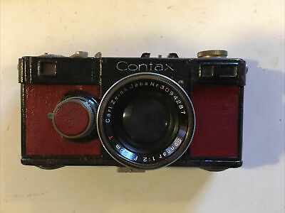 Contax 1A Camera with Zeiss Sonnar 5cm F2 Lens