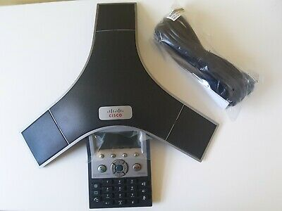 NEW Cisco Polycom CP-7937G UC Phone Unified IP Conference Speaker Phone Station