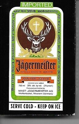 Jagermeister Playing Cards