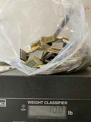 10 lbs CPU With Gold Pin CPU processors for Scrap Gold Recovery
