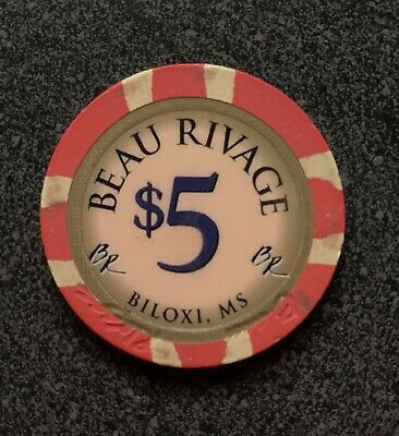 Details about  /$1 MISSISSIPPI BEAU RIVAGE CASINO CHIP BILOXI House Mold