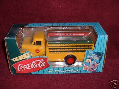 """1995 Issue Coca-Cola 1953 FORD """"Delivery TRUCK"""" Diecast METAL """"Coin""""  BANK"""