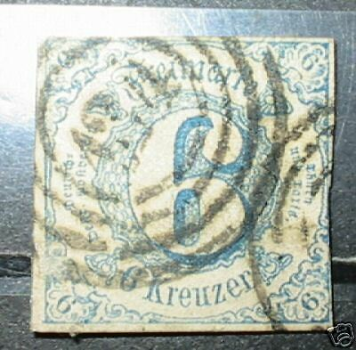 Germany south Thurn Taxis stamp #54 used VF