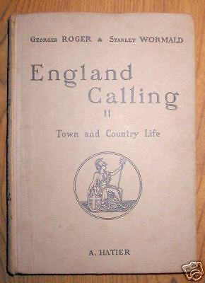 ENGLAND CALLING II Town and Country Life - Hatier 1945