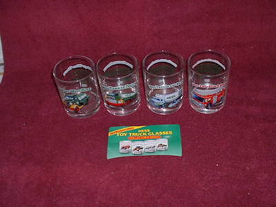 1996 HESS Collector Series GLASS TUMBLERS