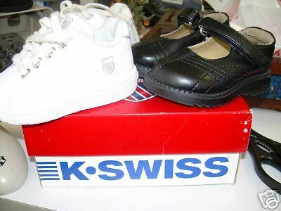 Two Pairs Of Baby Shoes Kswiss And Circo