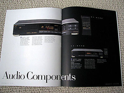 Sharp 1989 home/portable/car audio full line brochure