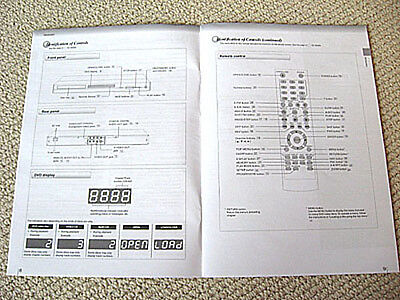 Toshiba SD-3990 DVD player owners manual, ENGLISH
