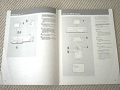 Sony SLV-373 series VHS VCR owners manual