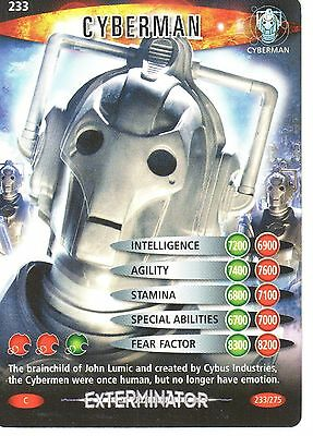 Dr. Who Battles In Time No. 233 Cyberman