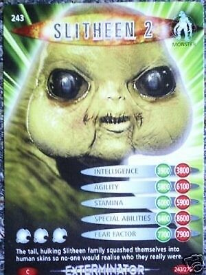 Dr. Who Battles In Time No. 243 Slitheen 2