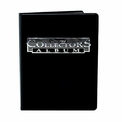 Ultra Pro Black 9-Pocket Collectors Portfolio: Trading Card Album YuGiOh Pokemon
