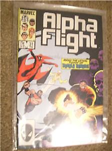 Marvel Alpha Flight Feb 1985 #31 Deadly Ernest NM!