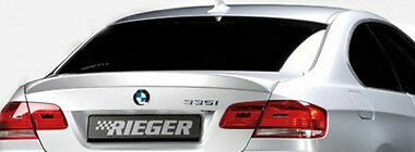 BMW Rieger OEM E92 E93 3 Series Coupe Or Convertible 2007-13 Rear Trunk Spoiler