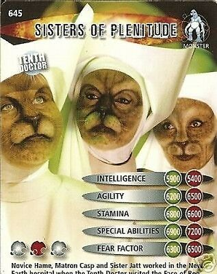 Dr Who Ultimate Monsters 645 Sisters Of Plenitude