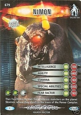 Dr Who Ultimate Monsters 679 Nimon