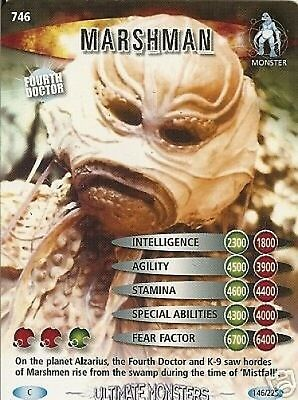 Dr Who Ultimate Monsters 746 Marshman