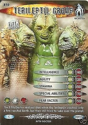 Dr Who Ultimate Monsters 810 Terileptil Group