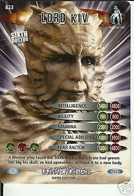 Dr Who Ultimate Monsters 823 Lord Kiv