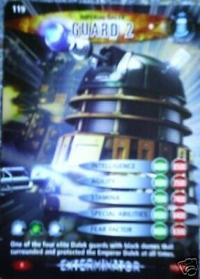 Dr. Who Battles In Time No. 119 Guard 2  Rare