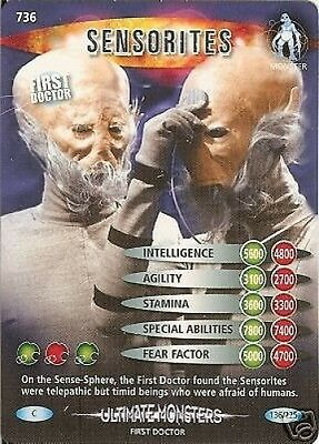 Dr Who Ultimate Monsters 736 Sensorites