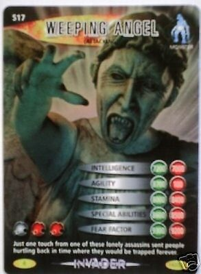 Dr Who Invader Rare 517 Weeping Angel Attacking