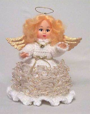 New Girls White Collectible Angel Air Freshener Doll