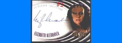 Farscape Season 4 Auto Elizabeth Alexander As Vella A28