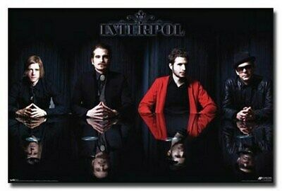INTERPOL POSTER Amazing Group Reflections RARE HOT NEW