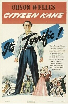 Citizen Kane Movie Poster 24in x36in