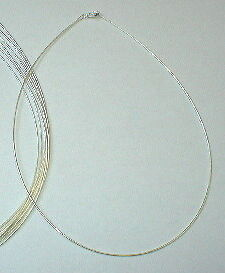 "3 Sterling Silver 925 1mm ROUND OMEGA 18"" Necklaces Lot"