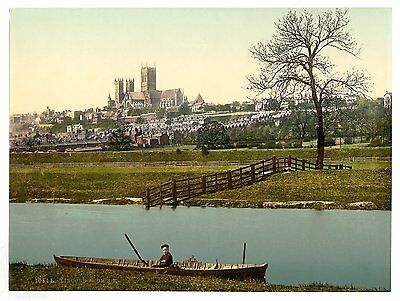 3 Victorian Views Lincoln Cathedral Stonebows Newport Arch Old Photos Pictures