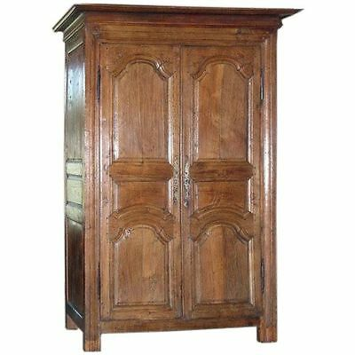 Louis XV Provincial Oak Armoire, Wardrobe made ca. 1750