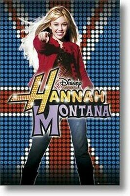 HANNAH MONTANA POSTER Pointing at You RARE HOT NEW