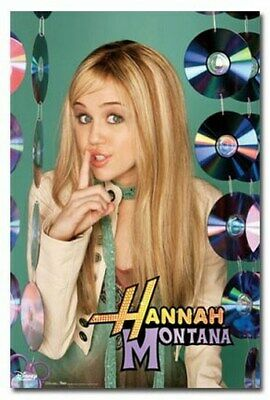 HANNAH MONTANA POSTER CD Decor RARE HOT NEW 24X36